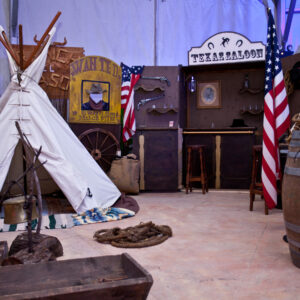 Location de décoration thème western ou Farwest