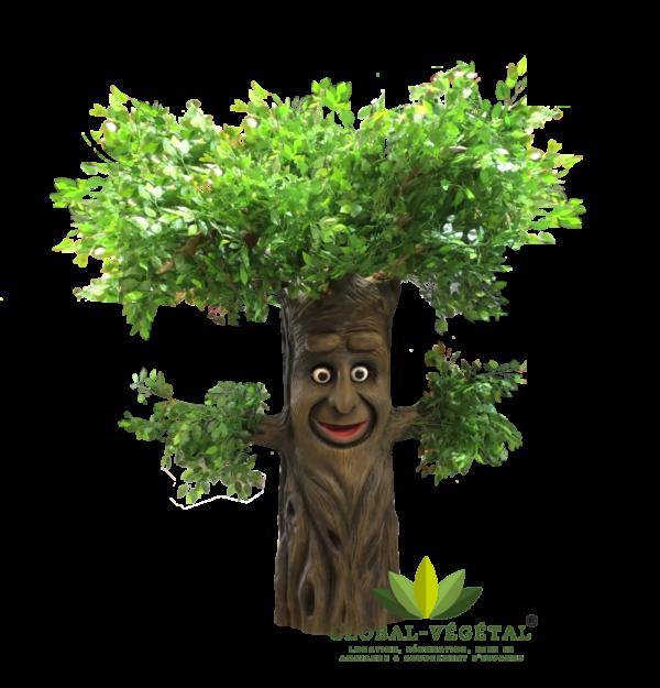 location d'arbre parlant pour vos décorations événementiel