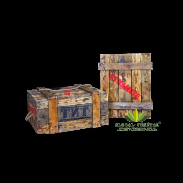 Caisse ou boite de dynamite