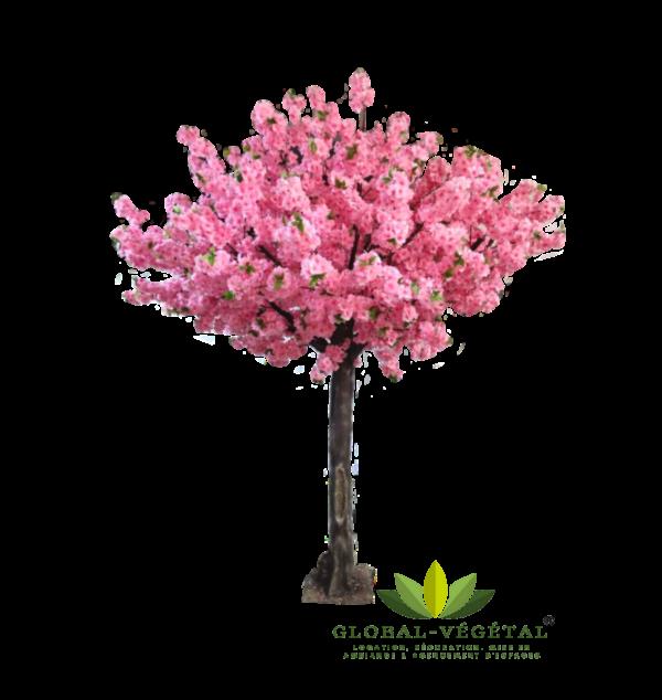 location de cerisier rose artificiel