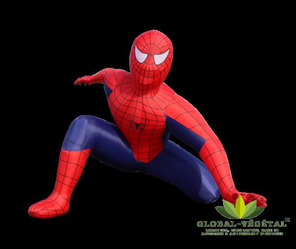 spiderman gonflable géant