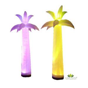 Location de palmier gonflable lumineux