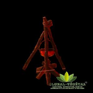Location de chaudron et support en bois