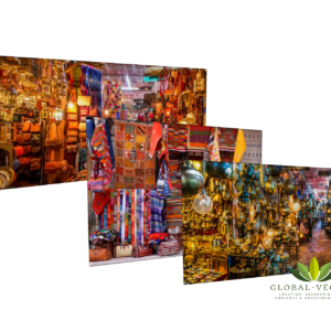 location de toile de fond marché oriental