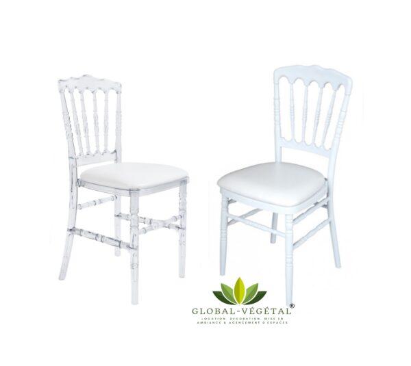 location de chaises napoléon pour mariage