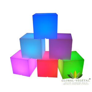 Location de cube lumineux