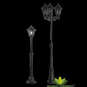 Location de lampadaire à LED