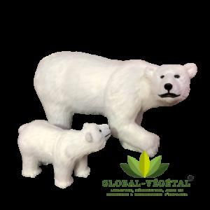 Location d'ours polaire animé robotisé