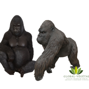 Location de Gorille en résine