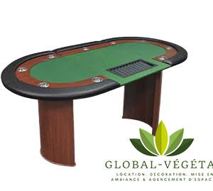 Location de table de poker