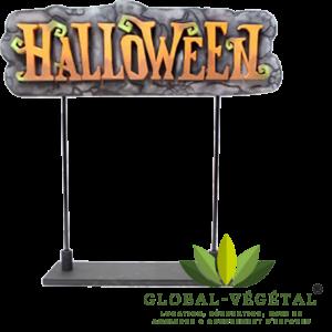 Location panneau Halloween