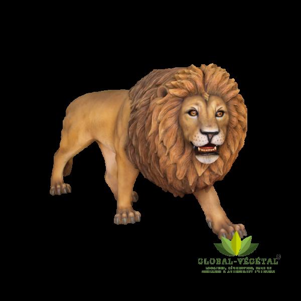 Location Lion en résine