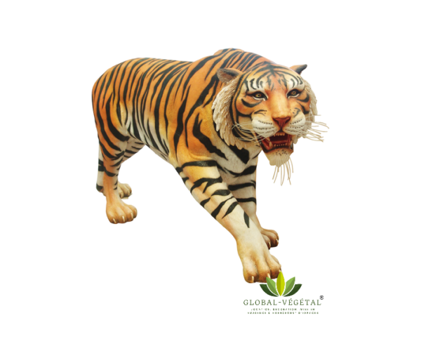 Location Tigre en résine