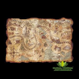 Location de carte au trésor géante