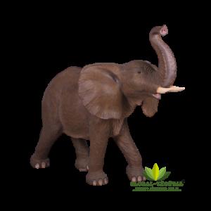 Location d'éléphant en fibre de verre