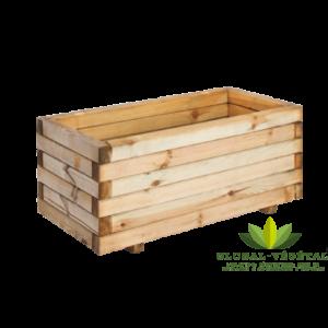 Location de jardinière en bois