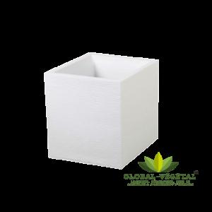 Location de pot carré blanc