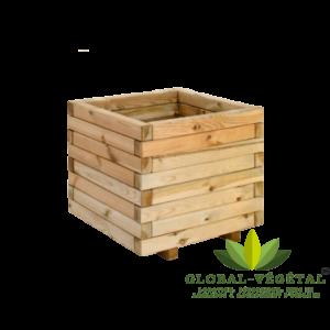 Location de pot carré en bois